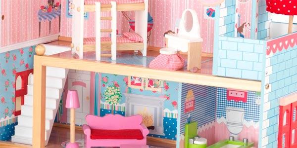 Casa de muñecas con 3 pisos Kidkraft Chelsea