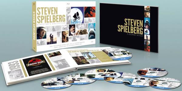 Pack películas Steven Spielberg en Blu-ray