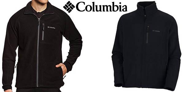 columbia fast forro polar hombre barato