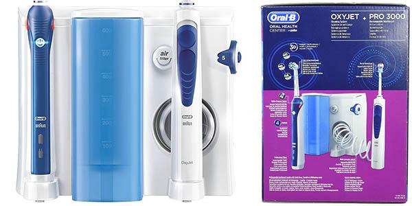 conjunto limpieza bucal oral b cepillo irrigador