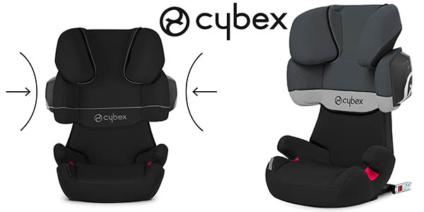 chollo prime silla de coche cybex solution x2 fix grupo 2. Black Bedroom Furniture Sets. Home Design Ideas