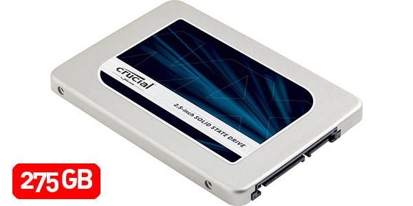 Disco SSD Crucial MX300 de 275GB