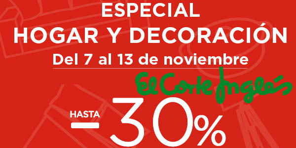 S lo unos d as ofertas especiales en hogar y decoraci n for Ofertas decoracion hogar