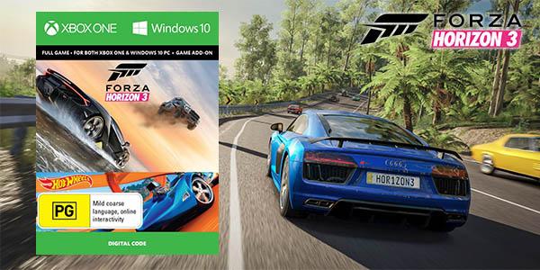Forza Horizon 3 + DLC Hot Wheels