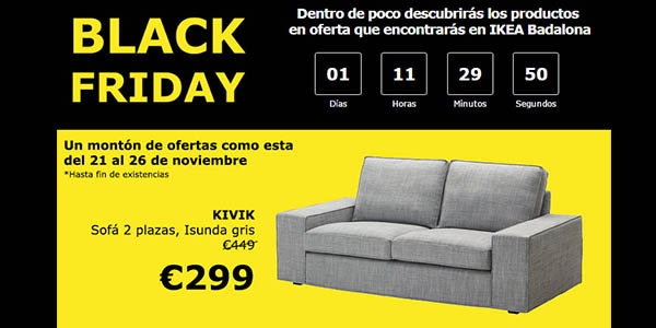 ikea black friday catalua