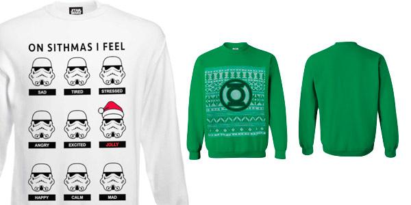 Jumper Christmas de Star Wars, cómics y videojuegos baratos en Zavvi