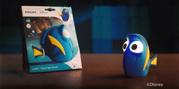 Lamparita LED quitamiedos Philips Disney