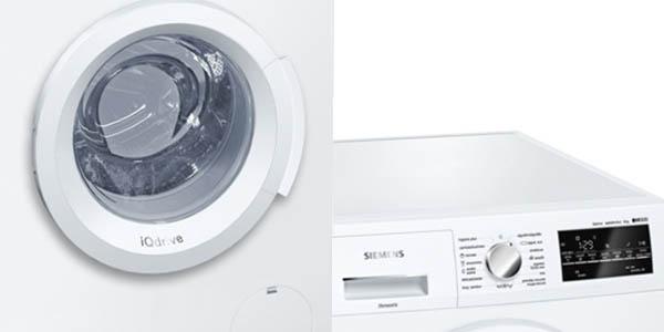lavadora gran carga siemens isensoric wm12t468es 1200 rpm