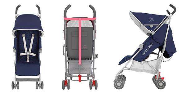 Chollo black silla de paseo maclaren quest por s lo 195 for Modelos silla maclaren