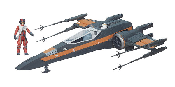 Nave X-Wing de El Despertar de la Fuerza con piloto y BB8 a buen precio en Amazon
