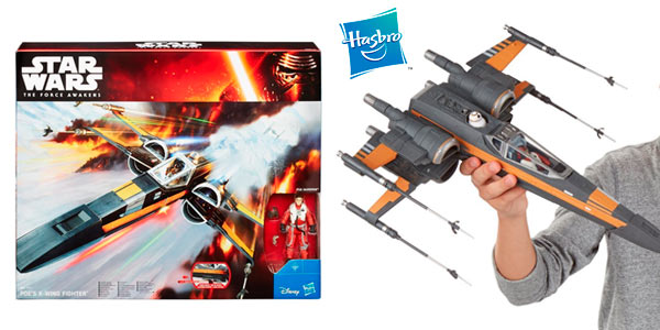 Nave Star Wars Poe's X-Wing Fighter El Despertar de la Fuerza a buen precio en Amazon