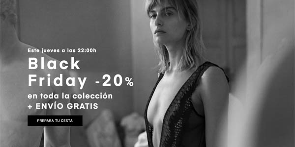 Black Friday 2018 en Oysho