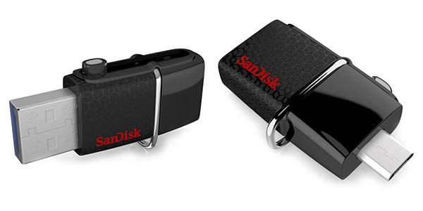 Pendrive SanDisk Ultra Dual de 128 GB