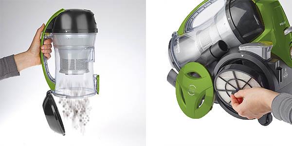 polti forzaspira mc330 turbo aspiradora ciclonica filtro hepa deposito extraible 1,8 litros