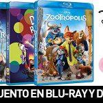 35% descuento en Blu-ray y DVD Disney