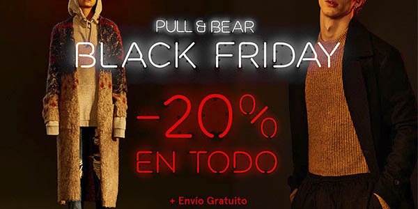 pull & bear black friday 2016