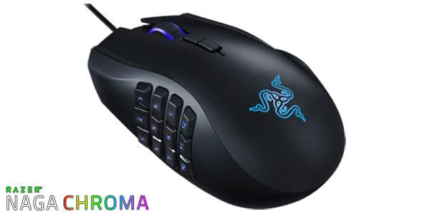 Ratón gaming Razer Naga Chroma
