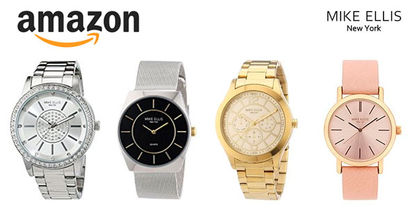 Relojes analógicos de pulsera Mike Ellis para hombre y mujer a buen precio en Amazon