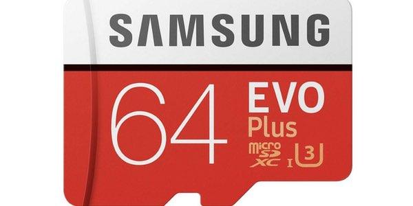 Tarjeta microSD Samsung EVO Plus barata