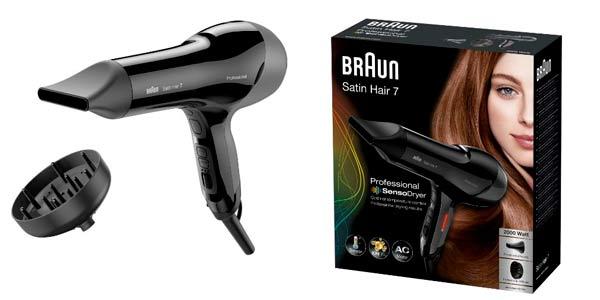 Secador de pelo Braun Satin Hair 7 a buen precio en Amazon