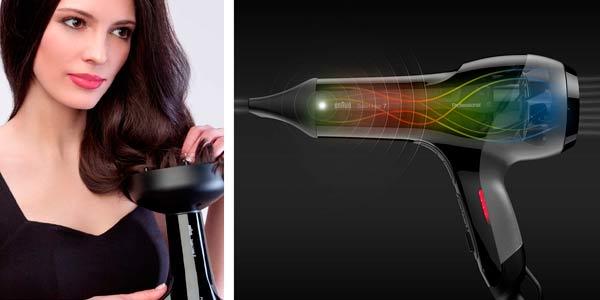Secador de pelo profesional Braun Satin Hair 7 en oferta en Amazon