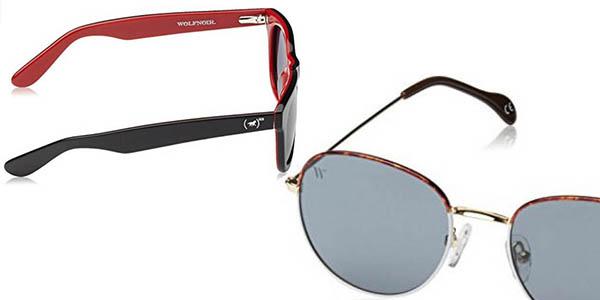 seleccion wolfnoir gafas sol montura diseño retro proteccion uv
