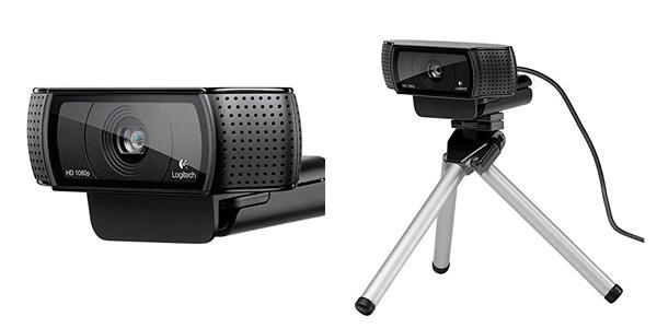 Webcam Logitech C920 para ordenador Full HD 1080p rebajada en Amazon por el Black Friday