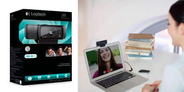 Webcam Logitech C920 HD Pro para grabar video o streaming a buen precio en el Black Friday