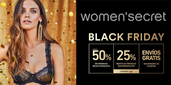 Women Secret Black Friday 2018