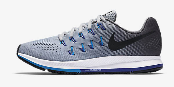 cheap for discount b2ec1 98353 Nike Air Zoom Pegasus 33 en color gris