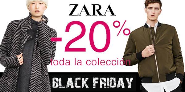 20% de descuento en Zara