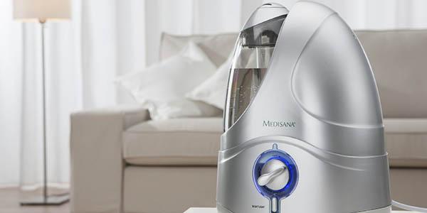 aparato humidificar idóneo alergias climas secos calidad medisana