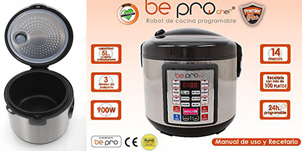 Be Pro Chef Premium Robot Programable Barato