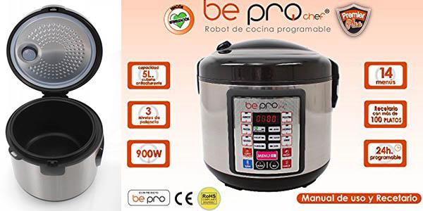 Robot de cocina be pro chef premier programable y con m ltiples funciones por s lo 39 90 con - Robot de cocina barato y bueno ...