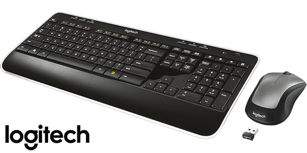 Combo teclado y ratón inalámbricos Logitech MK520