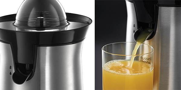 exprimidor zumos acero inoxidable russell hobbs 22760-56