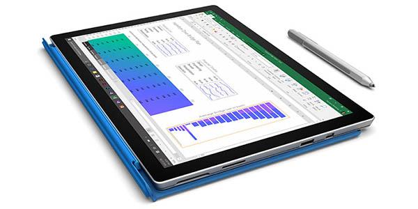 Microsoft Surface Pro 4 + funda con teclado