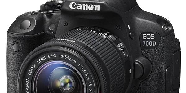 Canon EOS 700D + EF-S 18-55 barata