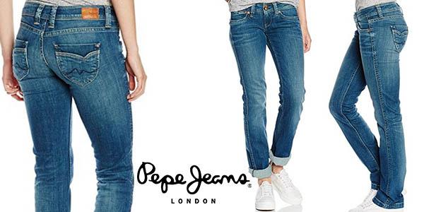 precio de fábrica diseños atractivos disponible Vaqueros para mujer Pepe Jeans Banji por sólo 47,29€ con ...