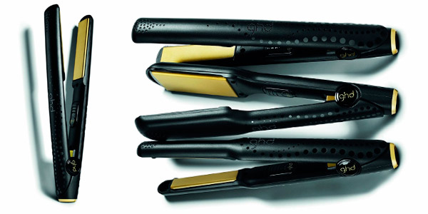 Plancha para el pelo ghd V Gold Professional Classic Styler con placas cerámicas y basculantes barata