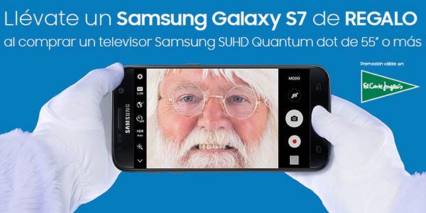 Promoción Samsung Galaxy S7 de regalo con TV SUHD