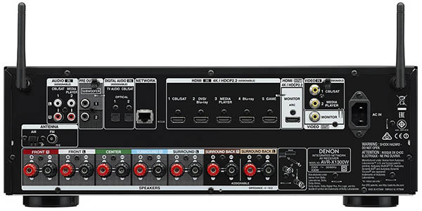 Denon AVR-X1300W 7.1 Surround 3D