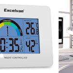 reloj despertador con termómetro Excelvan