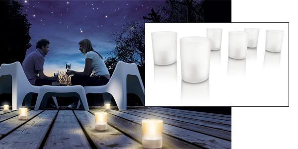 Velas LED baratas de Philips Tealights