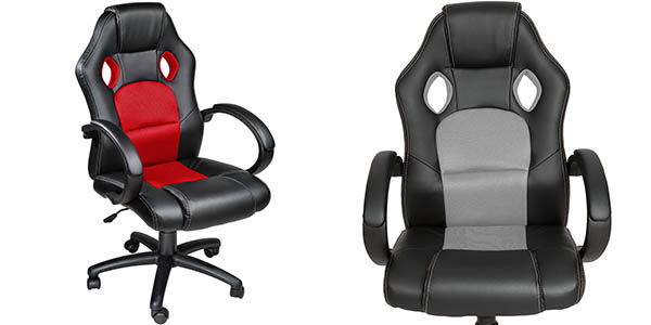 Chollo silla de oficina gaming deportiva por s lo 69 95 for Silla de oficina deportiva