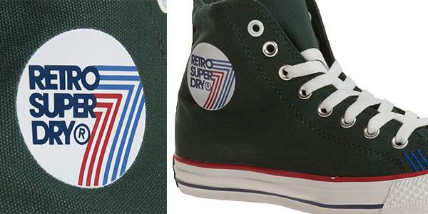 superdry zapatillas tipo converse all star precio brutal