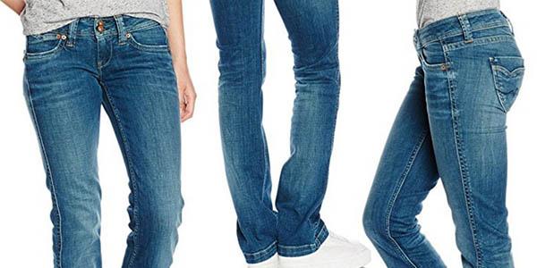 4ce0ab9a8b71c Vaqueros para mujer Pepe Jeans Banji por sólo 47