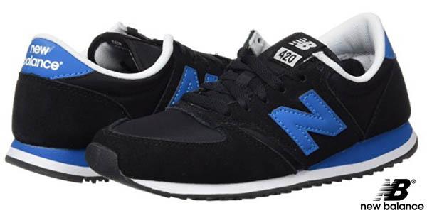 new balance negro y azul