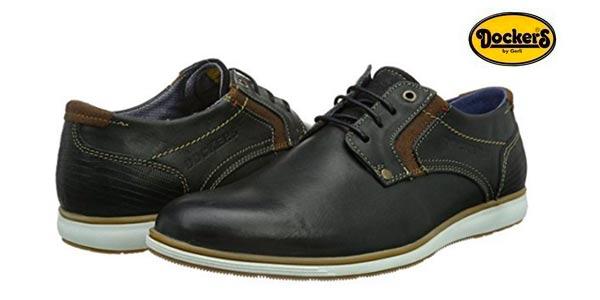 Zapatos negros Dockers by Gerli para hombre KFVqM