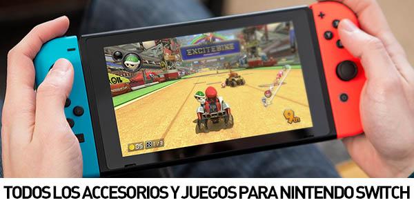 Accesorios y juegos para Nintendo Switch
